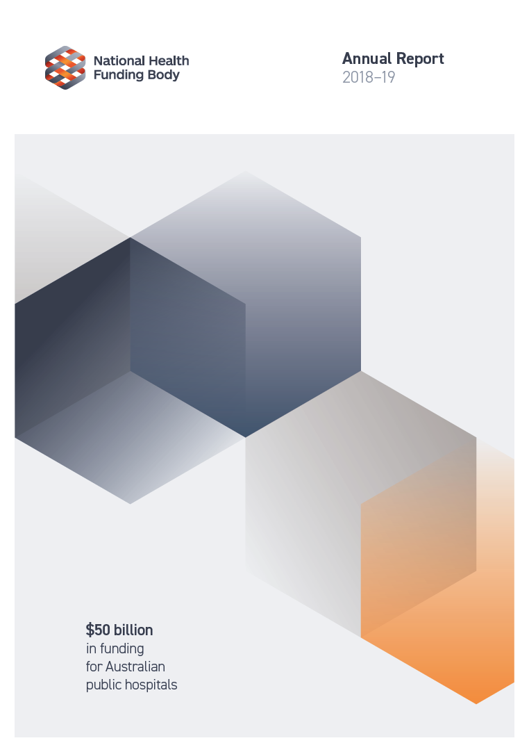 National Health Funding Body Annual Report Cover